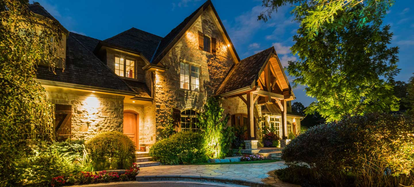 Outdoor Landscape Lighting Design for your beautiful property