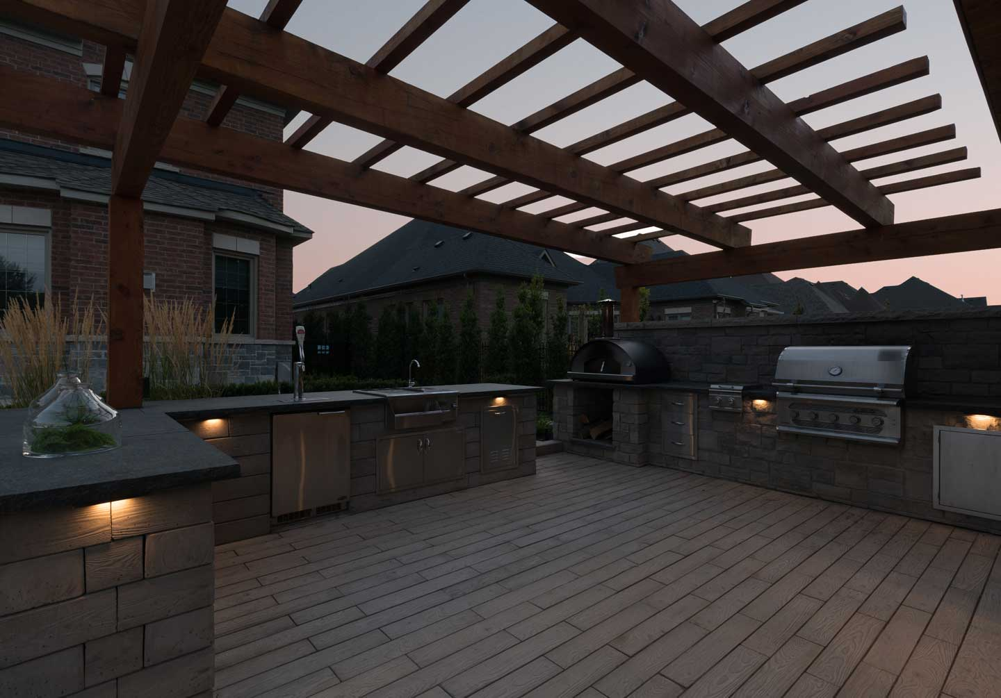 portfolio led lighting solutions and outdoor audio conscape