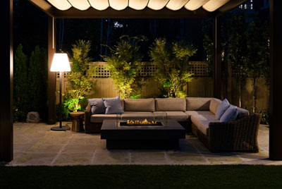 Rosedale Backyard Patio Lighting