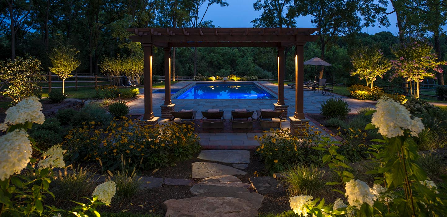 Set the Mood with Conscape Outdoor Lighting